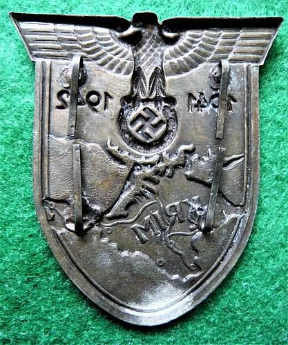 Krim Schild unknown maker ? or just another fake!