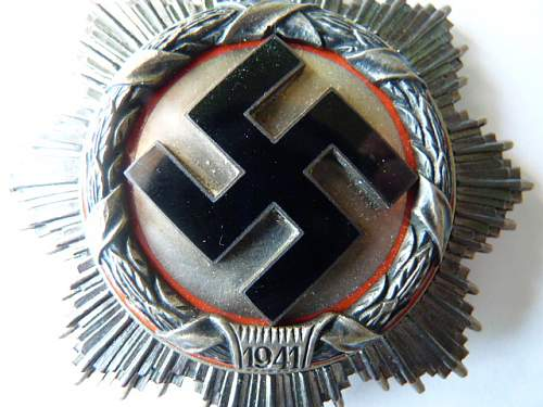 Deutsches Kreuz - silver and gold