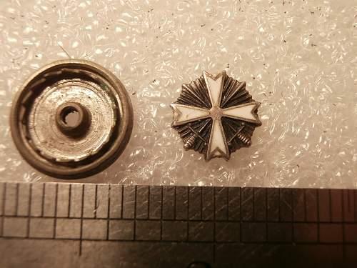 German Stick pin/collar pin?????