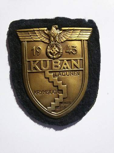 Kuban shield Karl  Wurster