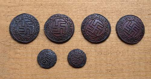 NSDAP badge factory rejects