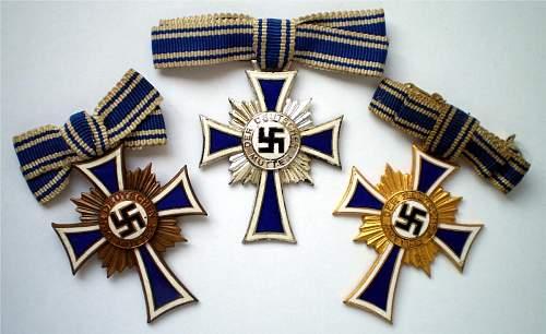Mutterkreuz--opinions please