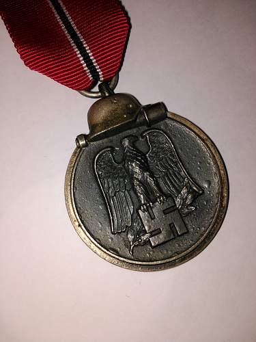 Winterschlacht im Osten 1941/42 (Eastern Front medal)