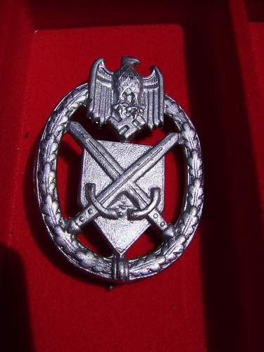 My small Nazi badge collection.