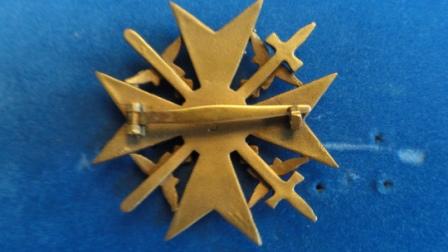 "Spanienkreuz (Spanish Star) - makers mark ""L/12"""