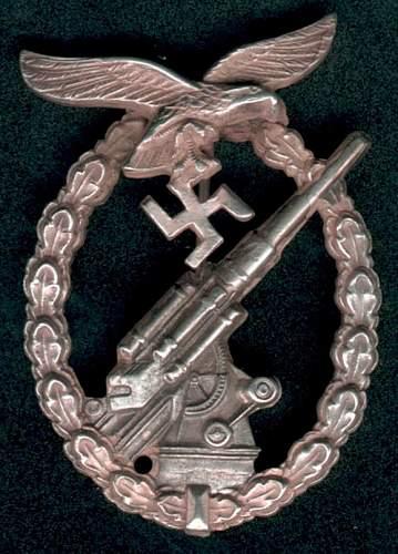 Flak Badge Fake Gallery
