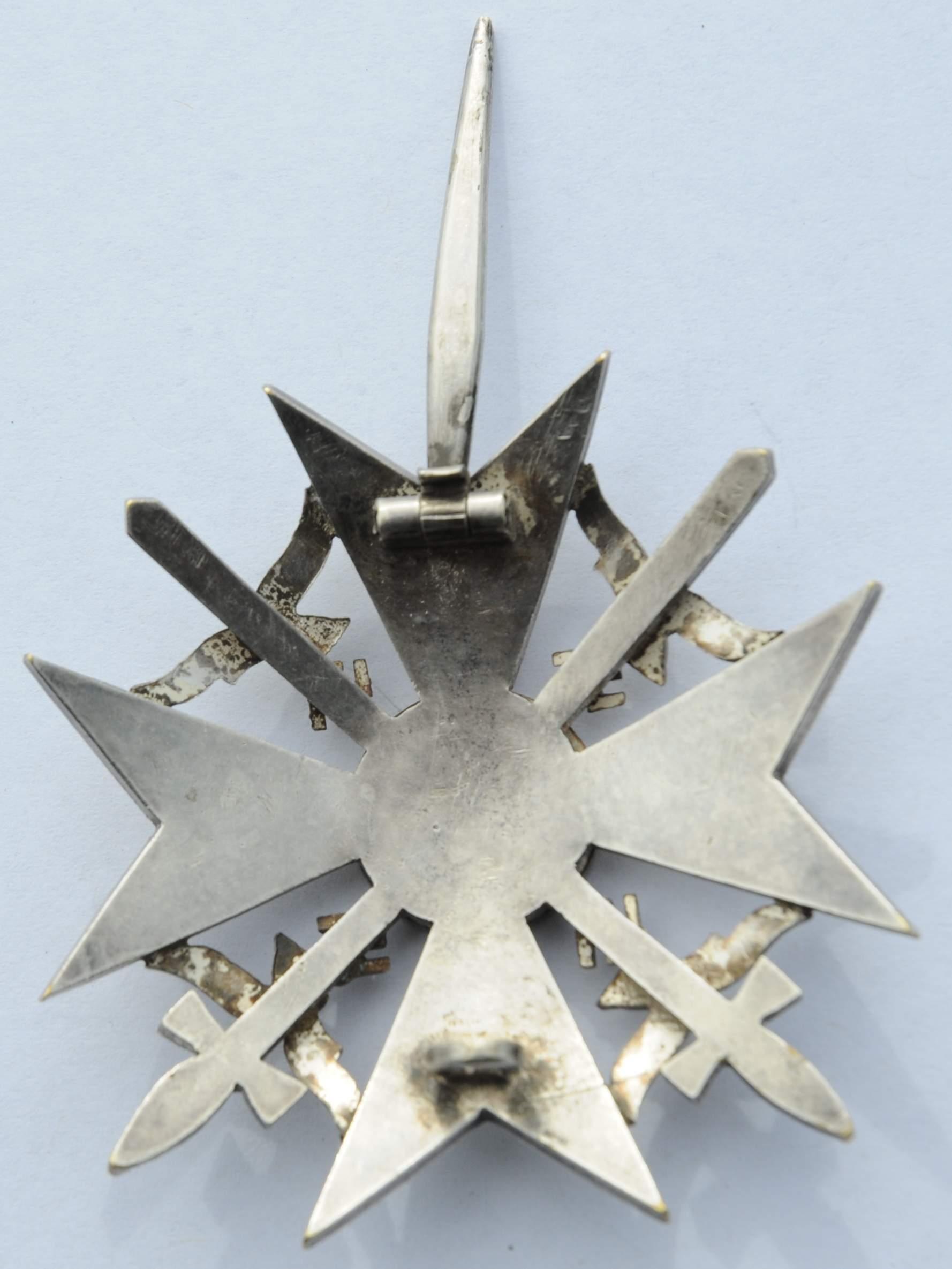 1133402d1511141313-spanienkreuz-silber-mit-schwerter-015 Verwunderlich Reich Werden Mit Silber Dekorationen