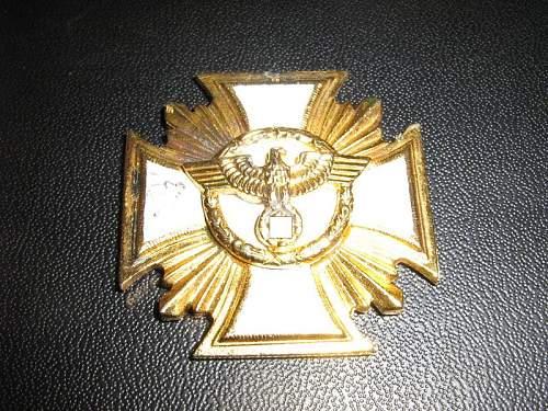 SS 8 years & Nsdap gold original?