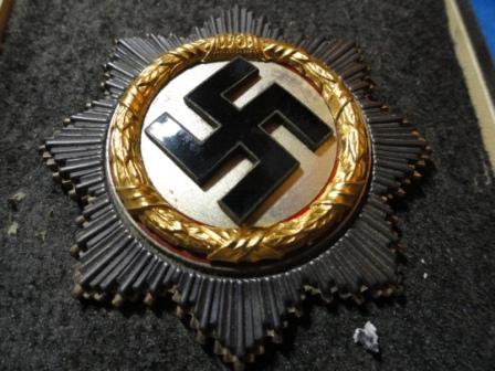 German Cross (Gold) AKA Deutsches Kreuz - no MM