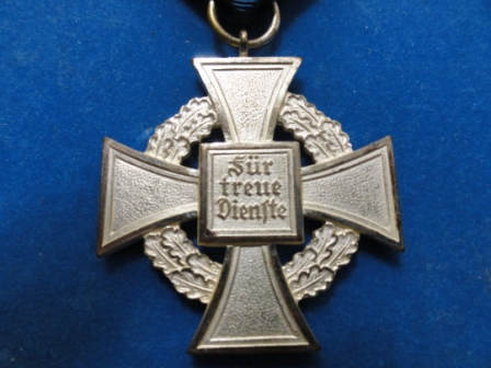 25 Year Civilian Service Cross