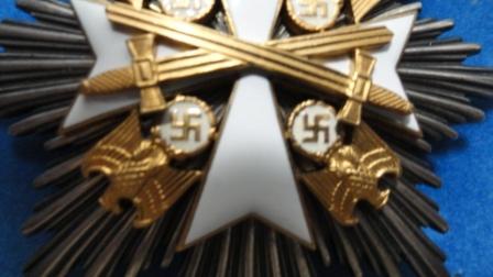 Verdienstorden vom Deutschen Adler / Order of the German Eagle w/ Swords - ?? Class