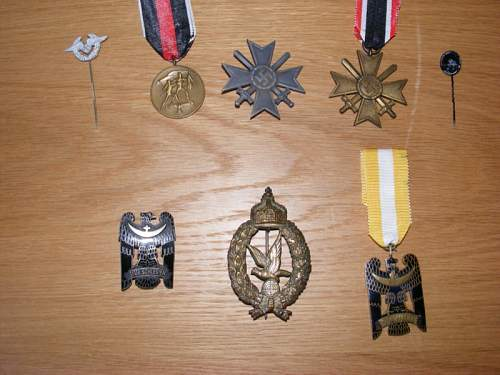 New medals to my collection - opinions please