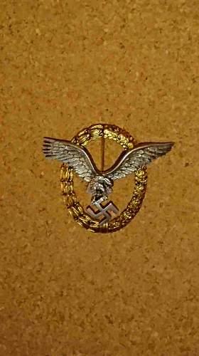 Flugzeugführerabzeichen by BSW