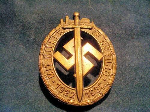 The Coburg Badge