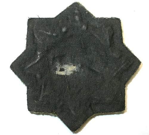 Deutsche Kreuz in Gold,,,cloth version