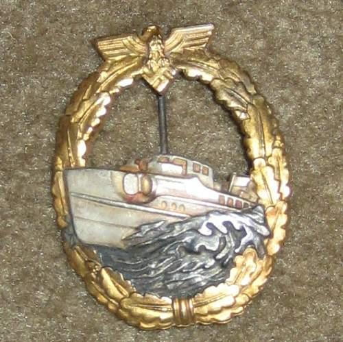 Three Badges: Real or Fake? (Schnellboot, Bandenkampf & Beobachter.)