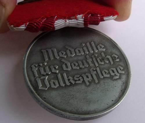 Social Welfare Medal parade mount