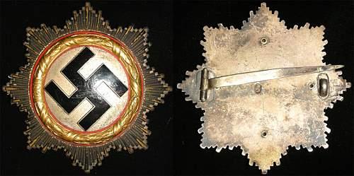 Deutsche Kreuz in Gold