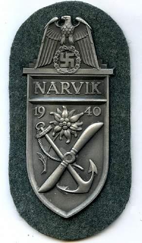 Narvik sheild, again