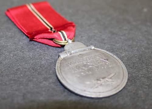 "Medaille ""Winterschlacht im Osten 1941/42"" (Ostmedaille) - Russian Front Medal. Unknown Maker"