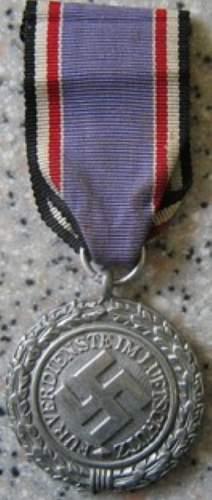 Another Luftschutz 1938 Medal