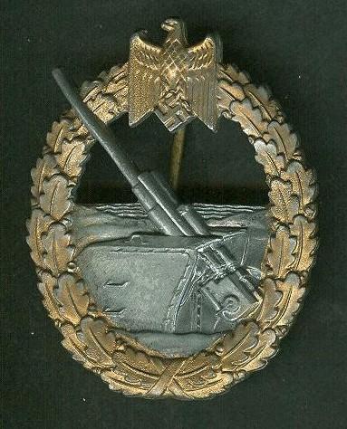 Kriegsabzeichen für Die Marine - Artillerie?
