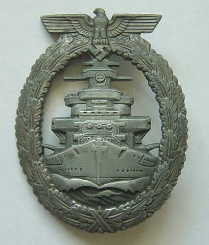 Click image for larger version.  Name:High Sea Fleet war badge.jpg Views:22 Size:168.3 KB ID:122919