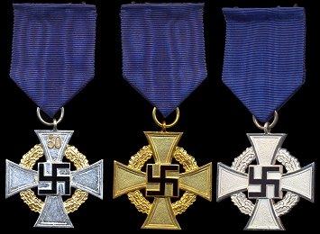 Treue Dienst Ehrenzeichen, 25 Jahre
