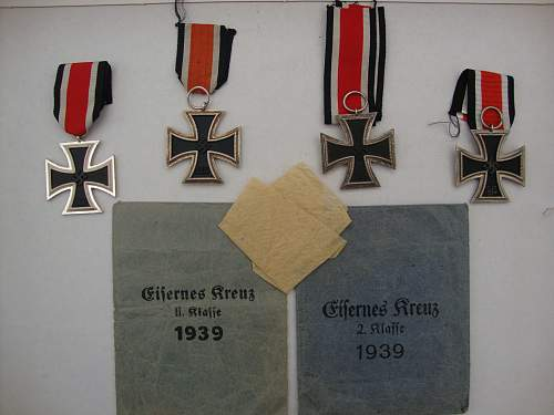 Medals and badges collection