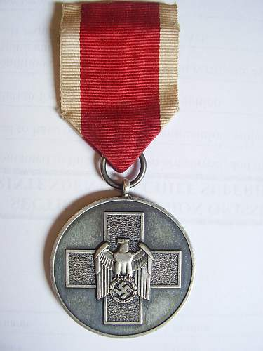 New social welfare medal