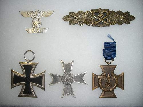Have a group of medals that I need to authenticate!