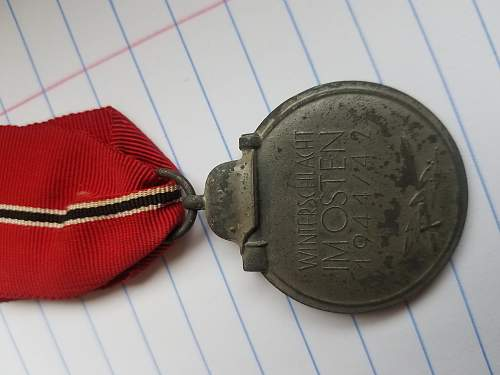 Is this an original Medaille Winterschlacht im Osten 1941/42?