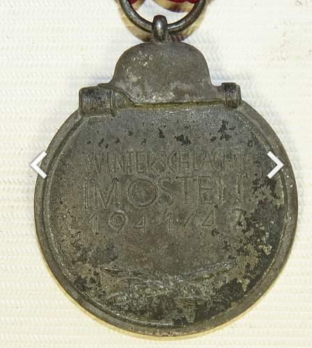 Is this an original Medaille Winterschlacht im Osten 1941/42?