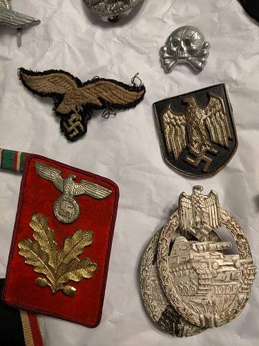 Information on pins, badges, and patches