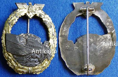 Hilfskreuzer Abzeichen fake or real??