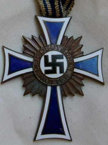 Mothers Cross (Ehrenkreuz der deutschen Mutter)