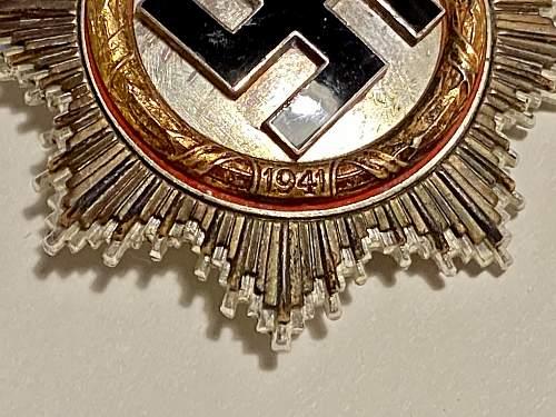 Deutsches Kreuz in Gold - Any good?