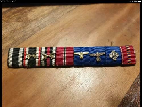 Feldspange service badges