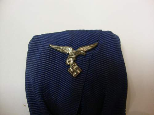 Luftwaffe 4 year service parade mounted