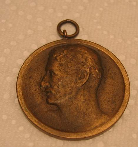 1938 German athletic medal