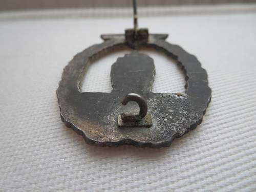 Kriegsabzeichen fur Minensuch-, U-Boots Jagd-, und Sicherungsverbände (real or fake)