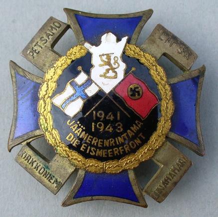 Nordfrontkreuz 1941-43.