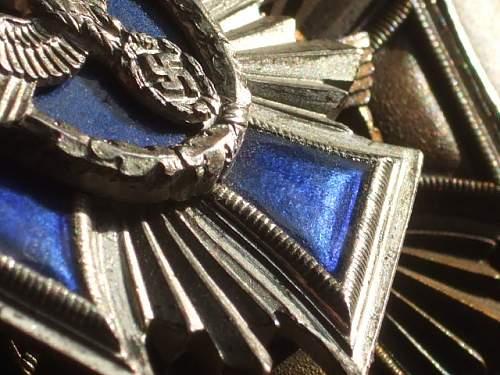 My latest find: NSDAP Long service medal bar