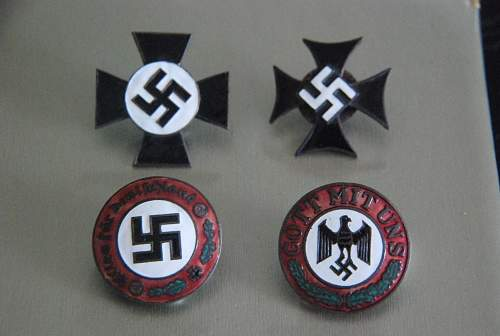 Please help to identify the badges