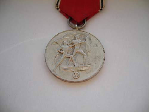 Afrika medal and Anschluss Medal