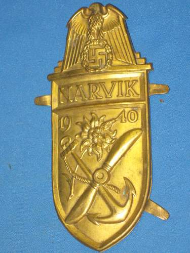 Is this Narvikschild a fake?