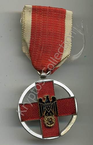 DRK  verdienstmedaille