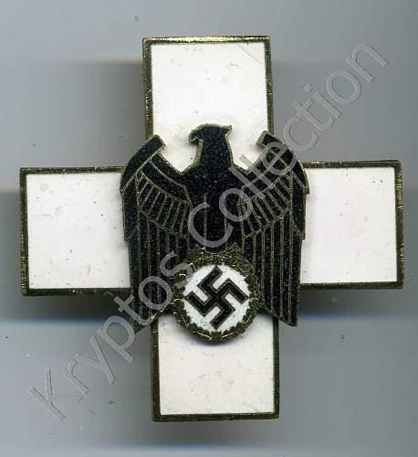 Volkspflege 2 stufe - pin back