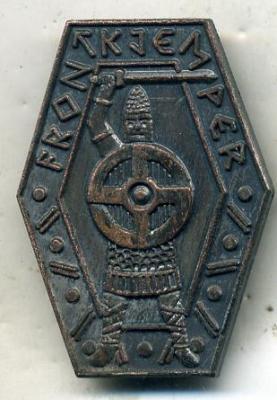 Fake Norwegian Front Fighter Badge on Ebay!