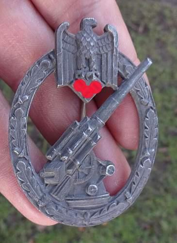 Flakkampfabzeichen des Heeres